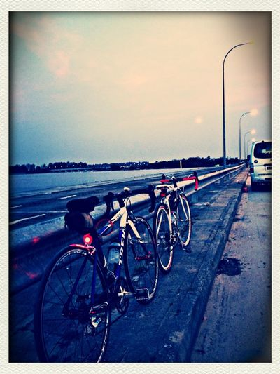 On The Road Connecting Punggol.. What a ride