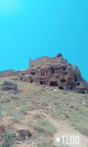 Tlos Antik Kenti, Fethiye- Türkiye Clear Sky Landscape Sky Architecture Arid Climate Old Ruin Drought Archaeology Historic Civilization Tomb Ancient Civilization