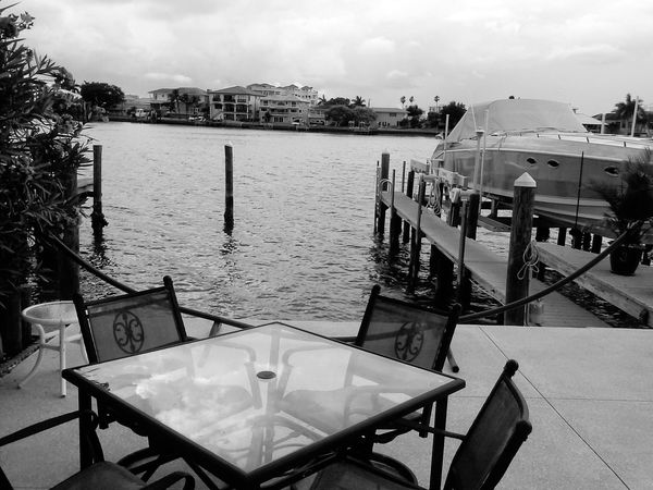 Beautiful View ❤ Hanging Out On The Water Clearwaterbeach Beautiful Day Tranquil Scene Tranquility Florida Life Salt Life Boat Friends ❤ Water
