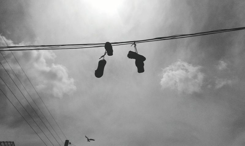 Mobilephotography Htcphotography Photography Streetphotogrphy Shoes Birds 2015  First Eyeem Photo Skyphotography Black And White Taked By Me Beatiful View Iran Tabriz Gajil Middle East گجیل تبریزایران عکاسی_موبایل آسمان