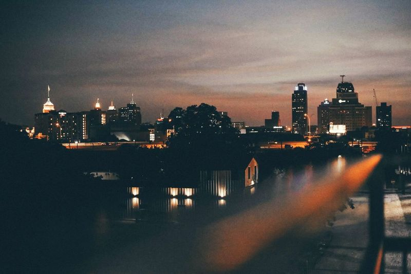 City colors City Sunset Night Modern Warmth Downtown San Antonio Hays Bridge Photography City Lights First Eyeem Photo EyeEm Selects