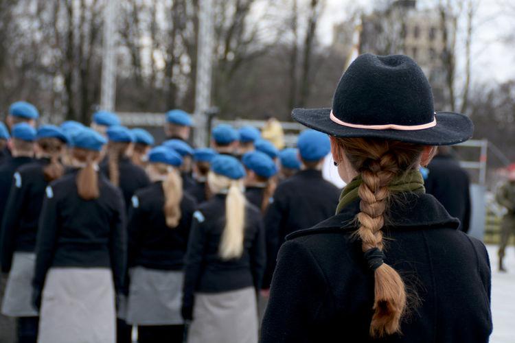 Someday Cat Skirts Blackandwhite Blue Headshot Braid Hair People Real People Women Hat EyeEmNewHere