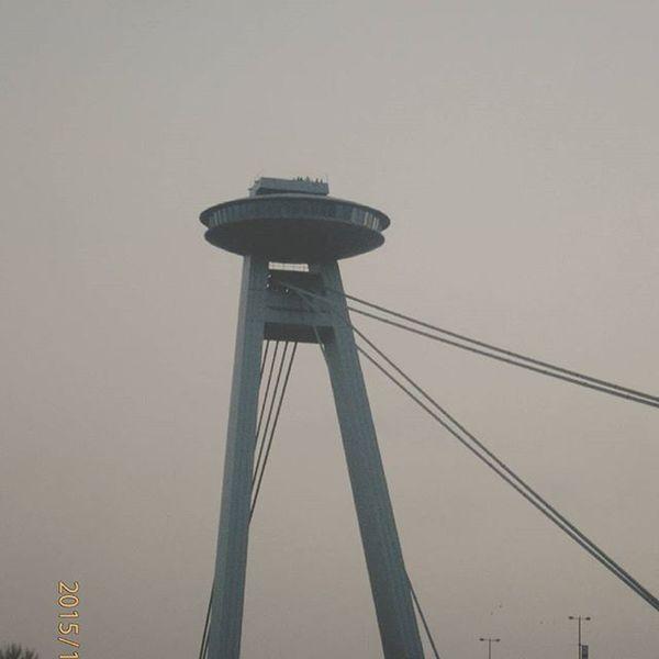 Bridge Pozsony Bratislava UFO UFObridge Danube Duna