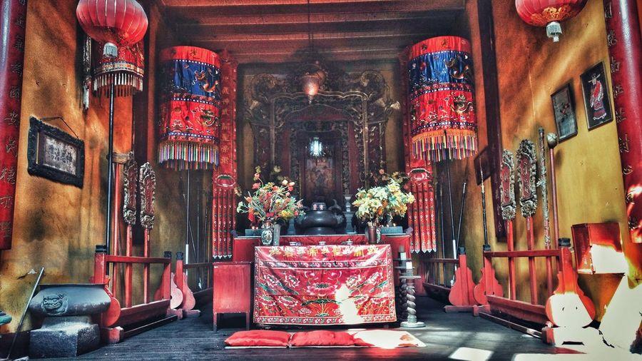 temple Temple Photo Photography Chinise Relegion Santuario Decoration Illuminated Curtain Altar Decoration