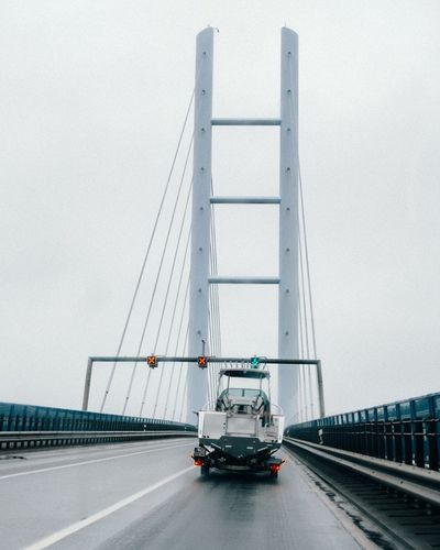 Transportation Bridge - Man Made Structure Suspension Bridge Connection Built Structure Architecture Outdoors Day City No People Sky Travel Travel Destinations Travelling Holidays