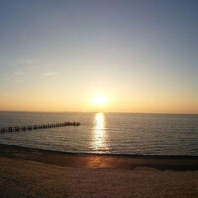 Sonnenuntergang in Utersum