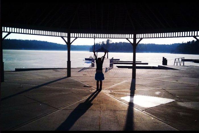Cool spot in Muskoka on Lake Rosseau with my girl! 💕 Capturing Freedom Docks POV Of Dee