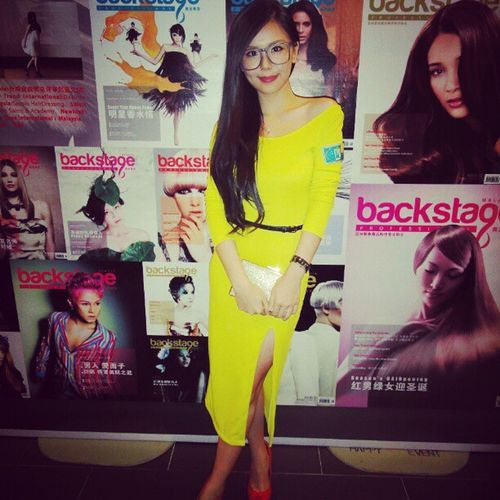 Attended Invitation Foodsion Backstage magazine launching night 12 12 12 Wednesday dresses vintage style bosslady boutique
