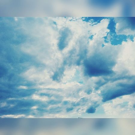 Hello ❤ Hello Summer Relaxing Sky And Clouds Enjoying Life