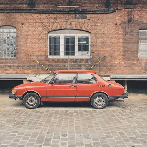 SAAB 99 // Car Classic Car Carspotting Karre Soloparking Saab Vintage Cars Swedish Delight On The Road Car Porn