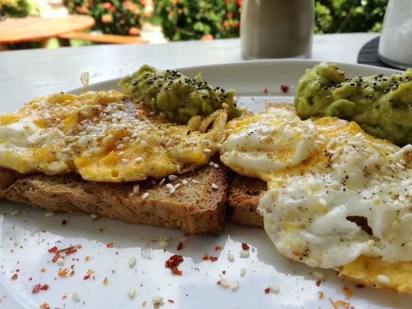 Toasts Egg Plate Food And Drink Food No People Ready-to-eat Freshness Breakfast Close-up Food Stories