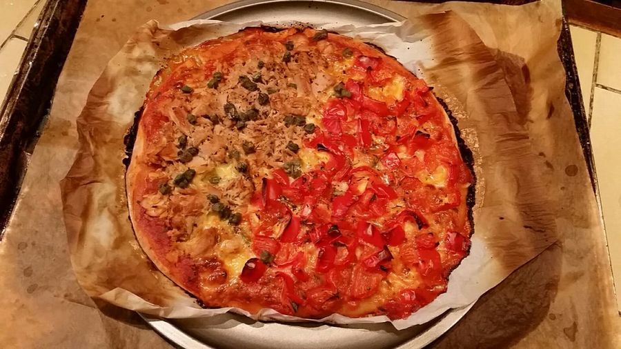 Pizza home made gluten free 😊 Pizzalover Pizza🍕 Pizzafood Gluten Free Food Healthy Eating Healthy Lifestyle Foodphotography Homemade Food Fitnesslifestyle