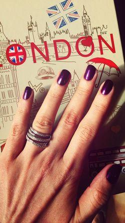 Fingers Nailpolish My Nails  Manicure