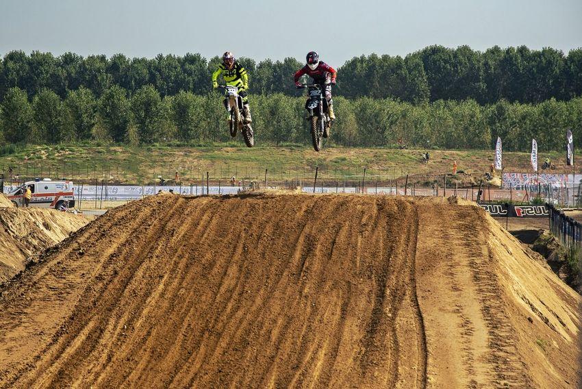 Super Jump Streetphotography Motorsport Motocross Ottobiano Pista Race Cross Tree Sports Track Men Competition Sky