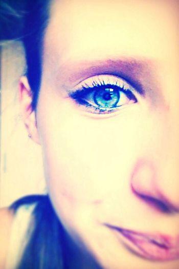 Blue eyes..