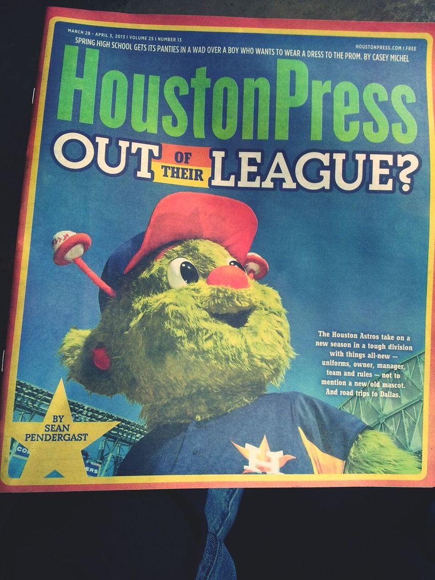 Loving this weeks Houston Press cover!