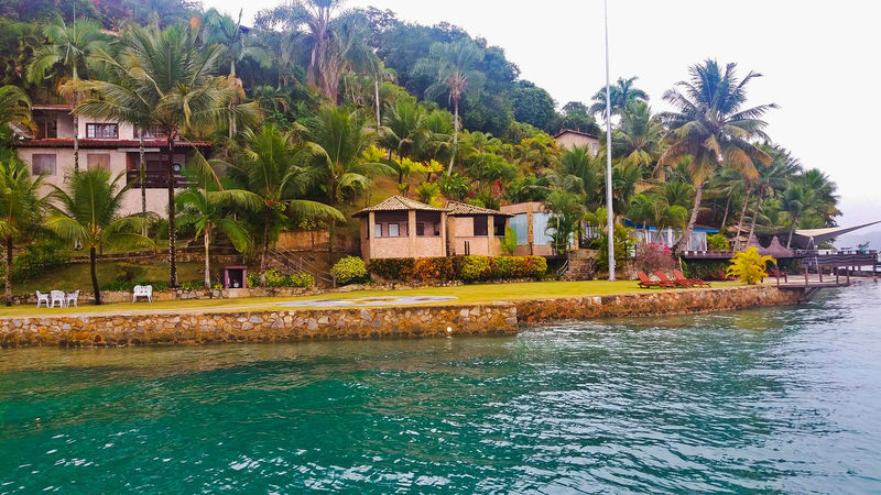 Ilha em Paraty - RJ Ilha Paraty Paraty, Brazil Paraty - RJ Riodejaneiro Natureza 🐦🌳 Lindodemais