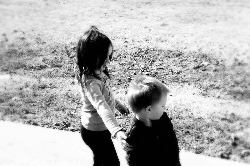 Siblings Black And White Photography Taking Photos Memories Eyeem Black And White Photography Family❤ Brother And Sister Grandchildren Granddaughter Grandson