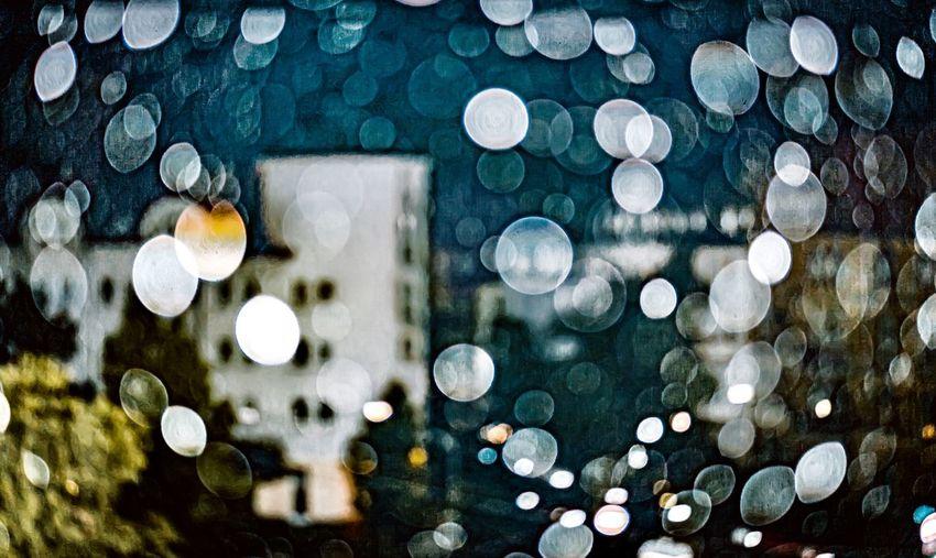 Raindrops Glass