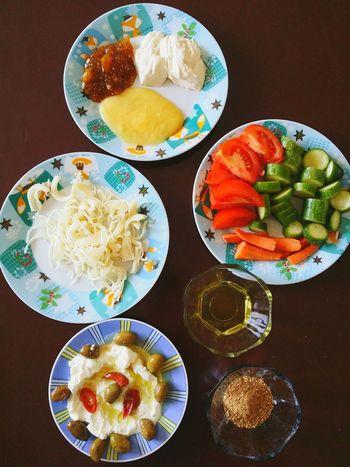 Breakfast Arabic_breakfast أكلات شامية Syrian Food Syria  Latakia  Dubai Dubai❤ Istanbul Hello World