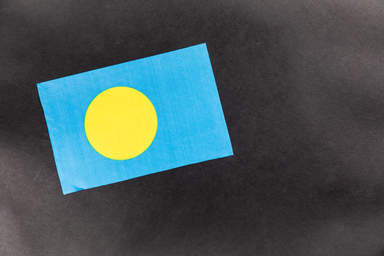 Flag Palau Blue