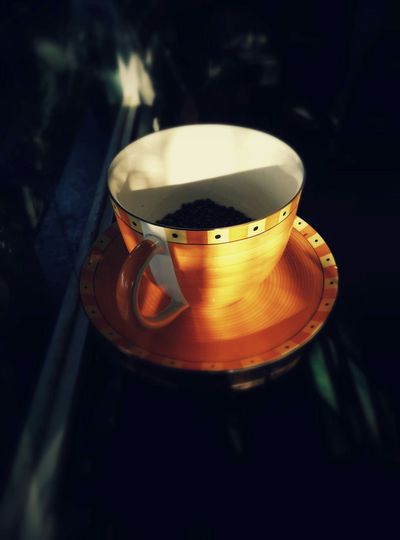 Orange Coffecup