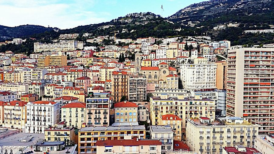 Landscape Taking Photos Getting Inspired Beausoleil French Riviera Nikond3200 Cityscapes Mycity Streetphotography On Top Of The World Top Of Building Colors City View  Beautiful View Colorful
