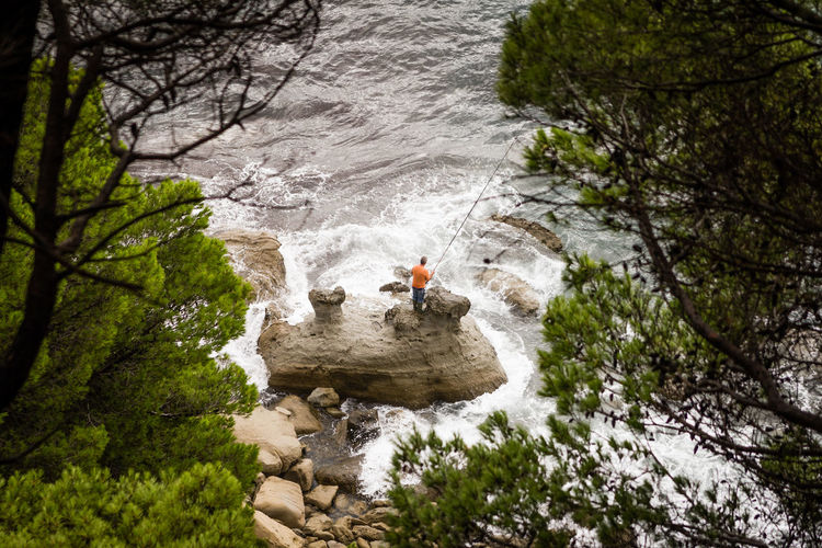 angler's heaven Angler, Fisher, Fisheries Worker, Fishermen, Job, Work, Baakster Beauty In Nature Day Fisher Fisherman High Angle View Lake Leisure Activity Lifestyles Men Nature Person River Rock - Object Seascape Tourist Tranquil Scene Tranquility Tree Vacations Water Wildlife & Nature The Great Outdoors - 2016 EyeEm Awards The Mix Up