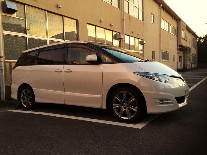 My car...🚘🚙 Car Carro Japao Toyota Estima Toyota Previa Estima