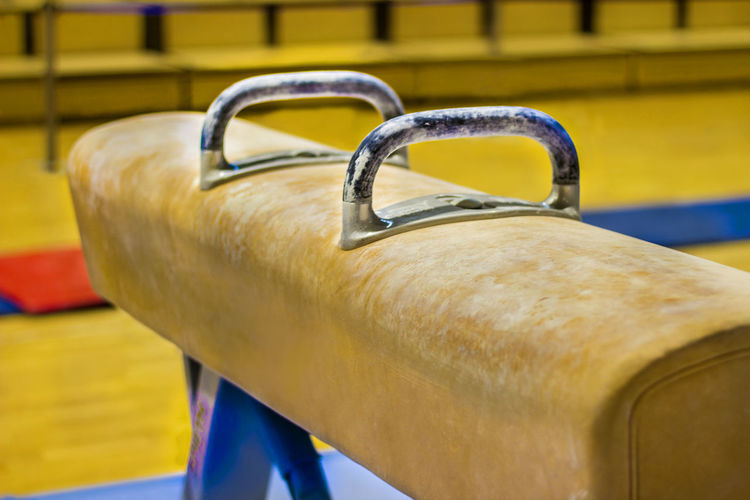 Gymnastic equipment Center Gymnast  Lifestyle Uneven Bars Blue Competition Equipment Gym Gym Time Gymnastic Center Gymnastics Gymnastics For Life ♡ Lifestyles No People Parallel Parallel Bars Pommel Pommel Horse Real People Rings Vault