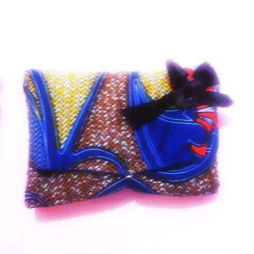 Handbag in african print. Afroprint Pagne Handbag  Handmaker MyDesign myCreation bolso borsa africanprint Africa ByOdiah