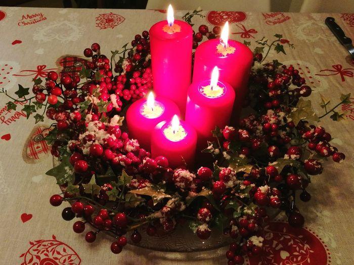 Candle Candlelight Christmas Celebration Christmas Decoration Flame Decoration Christmas Tree Red Indoors  Christmas Ornament Table Celebration Event Illuminated No People Burning Holiday - Event Close-up