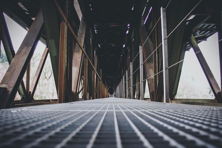 Low angle view of bridge