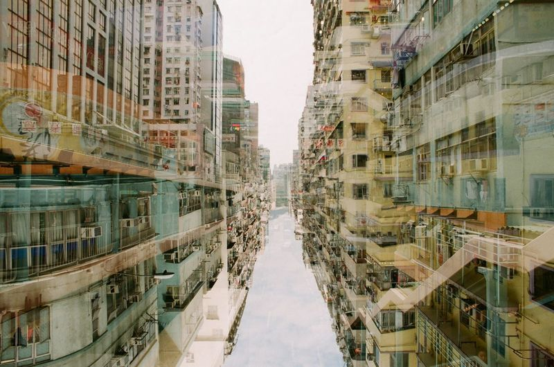 Nikon Nikon F2 Film Film Photography Filmphotography Filmisnotdead Filmcamera Film Is Not Dead 35mm Film 135film Fujifilm City Architecture Double Exposure Doubleexposure HongKong Hong Kong The Architect - 2017 EyeEm Awards
