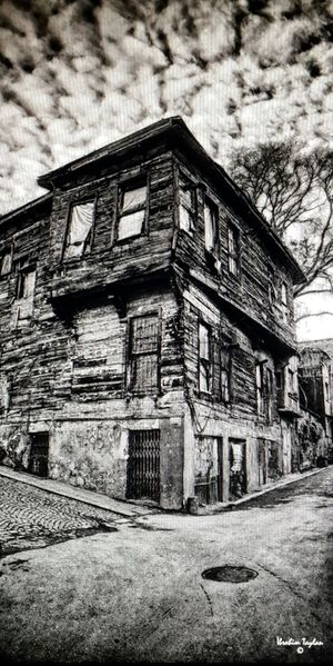 Black&white Blackart Art Old House