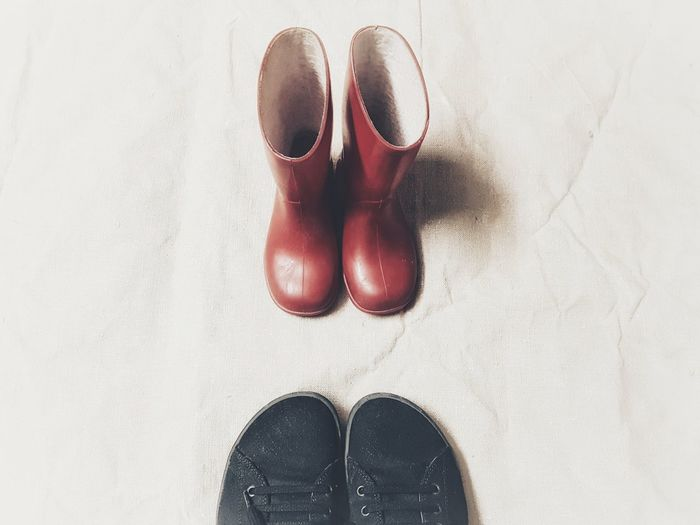   My old red boots   Me Myself And I Little Boots Red Color White White Background Birkenstock Mania EyeEmItaly Low Section Nail Polish Human Leg Red Shoe Standing Pair Human Foot Close-up Personal Perspective Footwear Visual Creativity