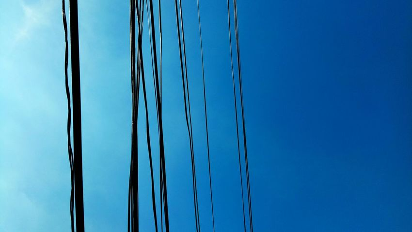 Sky wire! Photooftheday Mobilephotography EyeemPhilippines Mobilephotography Eyeem Philippiness