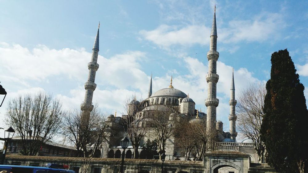 Been There. Mosque Bluemosque Sultaan Ahmed Turkey Istanbul