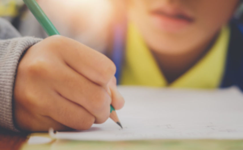 Writing Pencil Learning Education One Person Child Student Hand Childhood Human Hand Holding Human Body Part Men Pen Drawing - Activity Indoors  Males  Close-up Art And Craft Studying Teenager School Supplies