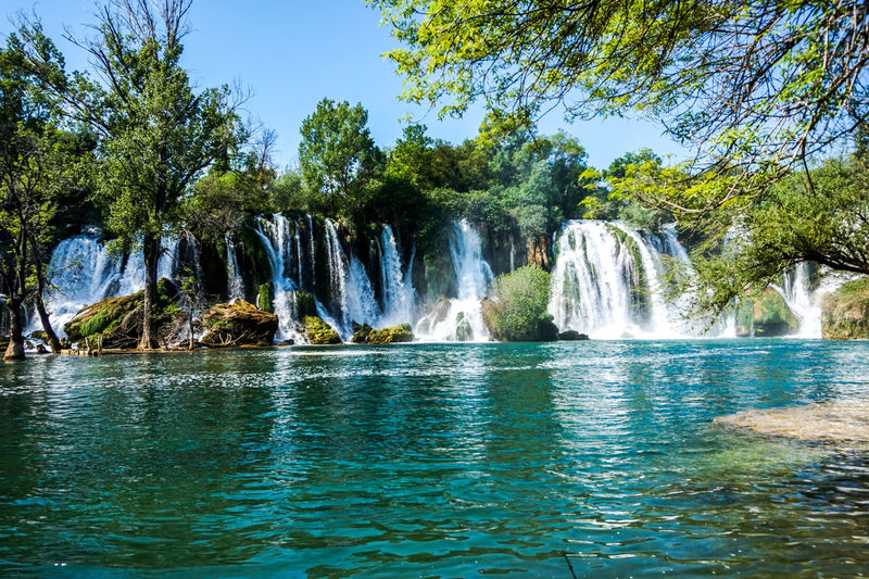 Nature Travel Traveling Beauty Beauty In Nature Beauty In Nature Falling Water Flowing Flowing Water Idyllic Kravica, Bosnia & Herzegovina Kravice Land Motion Nature No People Power In Nature Scenics - Nature Tourism Tranquil Scene Tranquility Travel Destinations Tree Water Waterfall