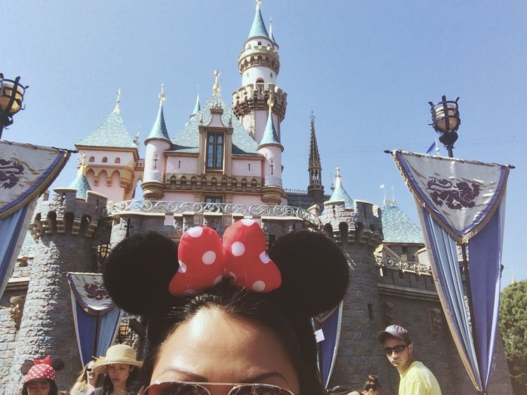 Where Do You Swarm? The Happiest Place On Earth Disneyland Minnie Mouse