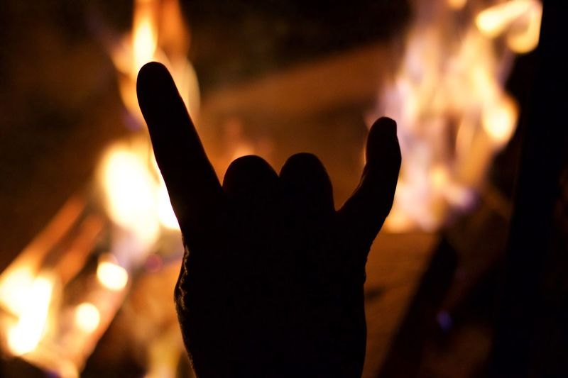 Firepit Rock And Roll