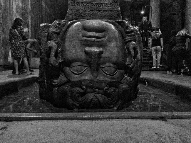 Medusa Skulptura Medusa Head Istanbul Istanbul Turkey Historical Building Yerebatan Sarnıcı Medusa Sculpture Art And Craft Statue Representation Creativity Human Representation Male Likeness Craft Architecture Carving - Craft Product No People Religion Close-up Belief Spirituality Built Structure Place Of Worship