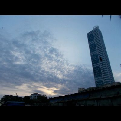 Clouds suit my mood just fine. Photography Rainy Season  Cloudy Wether Dadar Foolmarket Sunshine Tower Instalover Like4like Dailypic Instauplod Nikon Coolpix L29