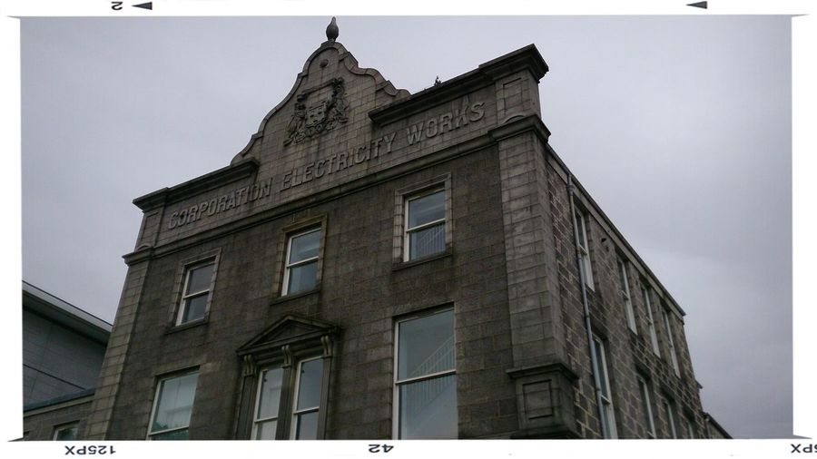 Converted Electricity Works building in Aberdeen Aberdeen History