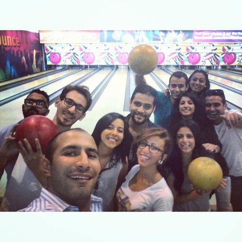 Fun Friends Bowling Selfie