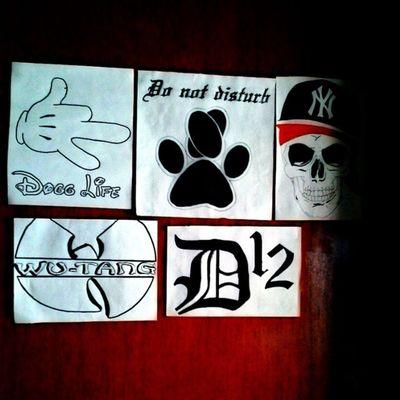 La puerta de mi cuarto la representa! Door Style Rprsnt MuyPorno DoggLife D12 Wutangclan
