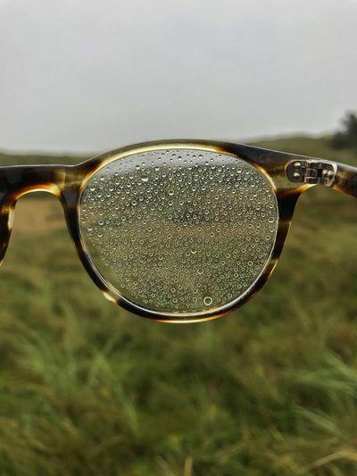 (Not) with my own eyes. Baltic Sea Norderney Schietwedder Nordsee Herbst Regen Regentropfen Raindrops Eyesight Eyeglasses  Sunglasses Close-up Eyewear Vision Glasses EyeEmNewHere