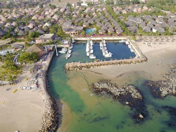 High Angle View Outdoors Yacht Dronephotography