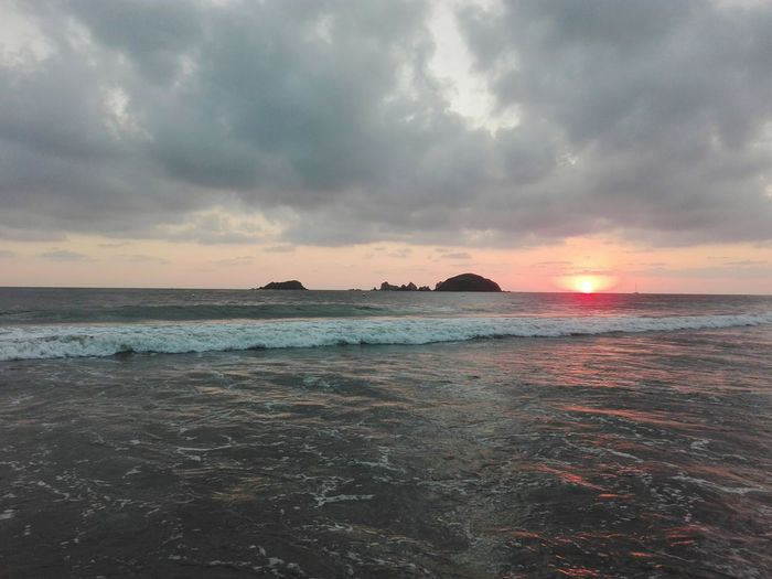 Sunset sail Sea Beach Eyem Masterclass Eyemlike Eyembestshots Mexico Horizon Over Water Sailboat Waves, Ocean, Nature Photooftheday EyEmNewHere